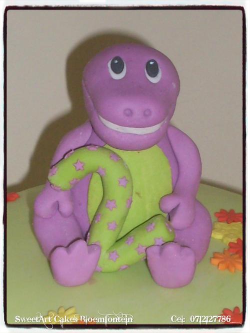 Barney Cake Toppers Barney Cake Topper Figurine