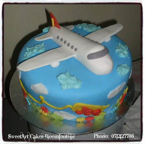 Airplane Cake Topper For Sale