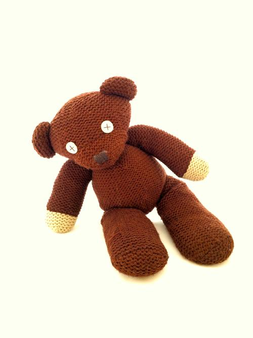 Collectable - Mr Bean Official Knitted Teddy Bear 1996 for sale in Malmesbury...