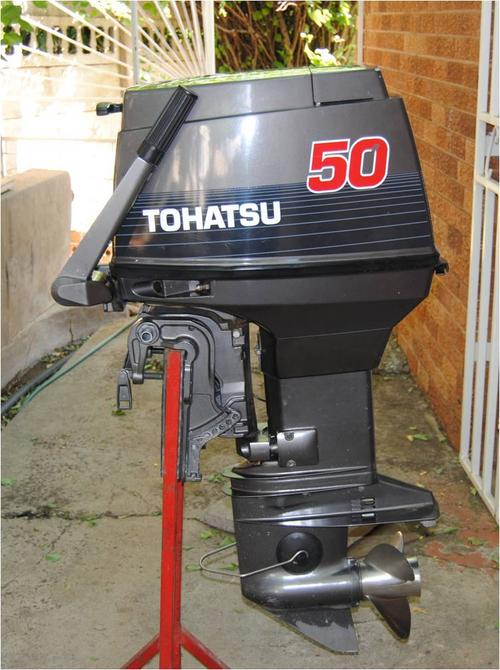 Boat Motors 50hp Tohatsu Outboard Motor Was Listed For