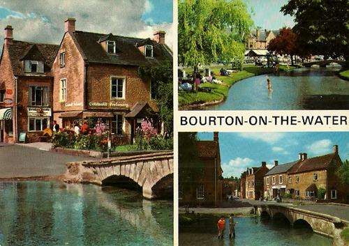 Bourton on the Water United Kingdom  city photo : Post Cards Bourton On The Water, Gloucestershire United Kingdom ...