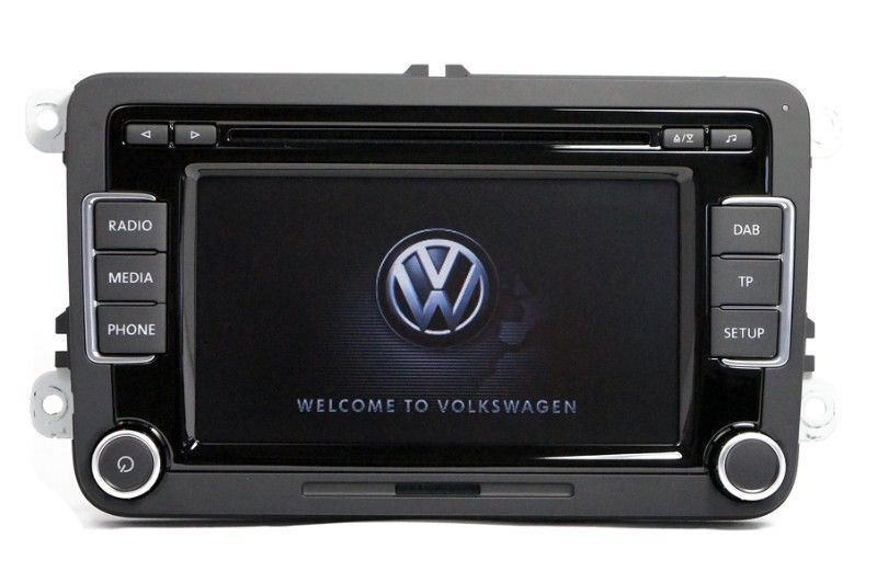 audio head units genuine volkswagen rcd 510 original vw. Black Bedroom Furniture Sets. Home Design Ideas