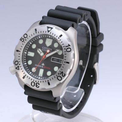 Men 39 s watches citizen promaster automatic divers titanium watch ny0054 04e was sold for r1 400 - Citizen titanium dive watch ...
