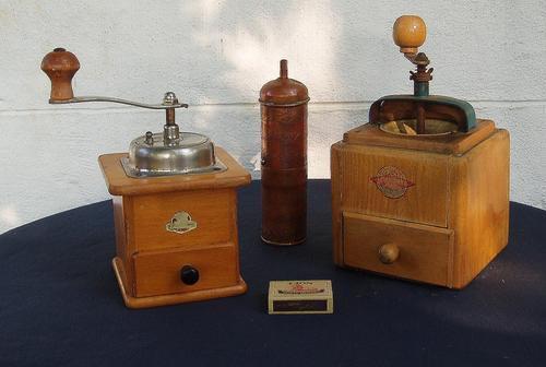 Vintage zassenhaus pepper mills