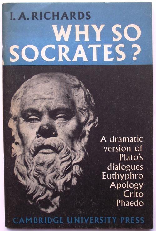 a paper on socrates views on virtue according to platos dialogues Plato became an enthusiastic and talented student of socrates and wrote famous dialogues featuring his teacher verbally grappling with opponents our wrestler believed in the pre-existence and immortality of the soul, holding that life is nothing more than the imprisonment of the soul in a body.