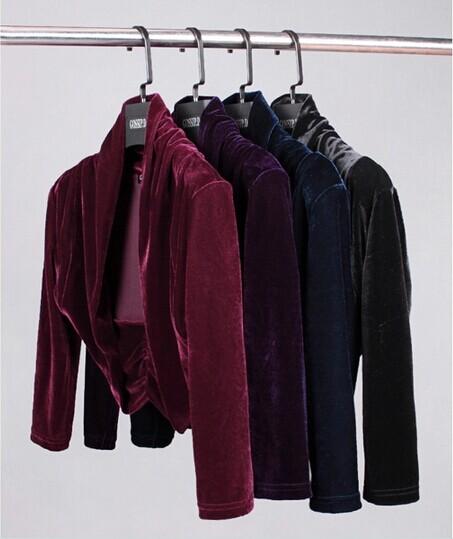 Jackets Amp Coats Velvet Long Sleeve Formal Dress Bolero