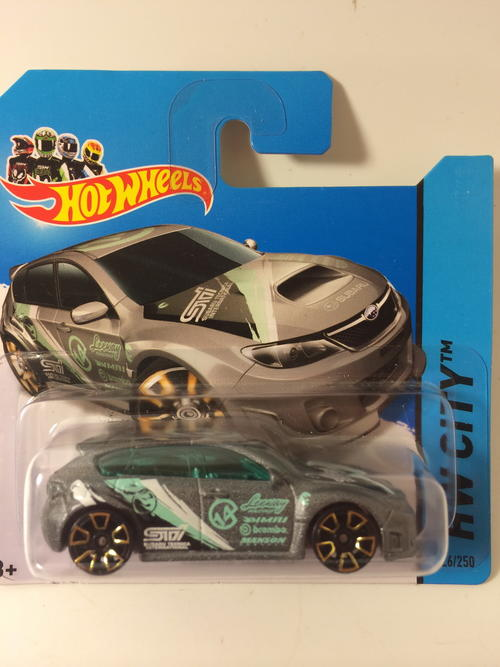 Subaru WRX STI  Hot Wheels HW City Night Burnerz Treasure Hunt