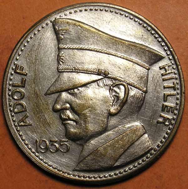 1935 adolf hitler coin