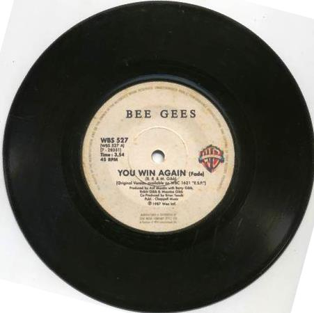 Bee Gees - You Win Again / E-S-P