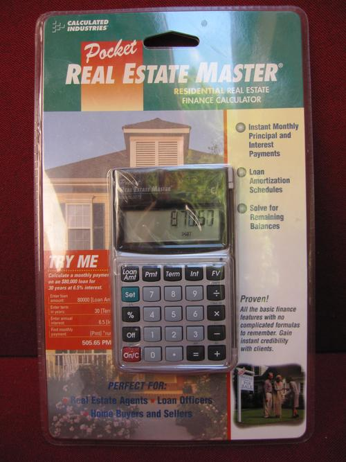 other antiques collectables what an interesting item pocket real estate master