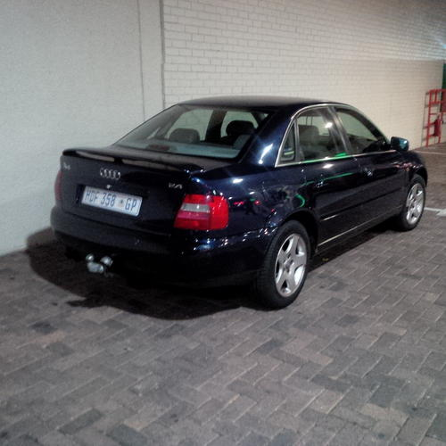 Audi A4 Ultrasport For Sale: Royal Blue, 2.8 Audi A4 Was Listed For R36,000.00