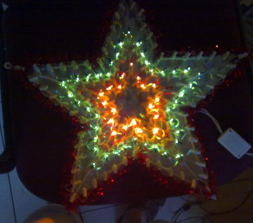 Unusual items xmas star flashing lights window for 6 star window christmas decoration lights