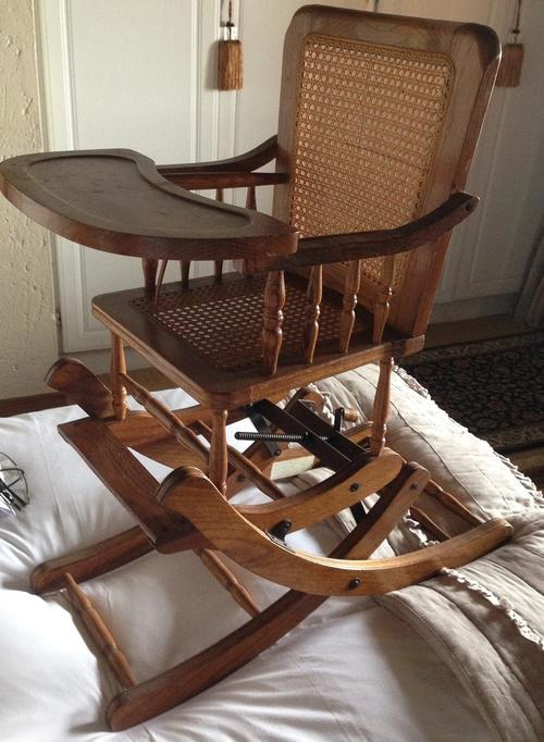 Chairs Stools & Footstools Antique Vintage Wooden Baby