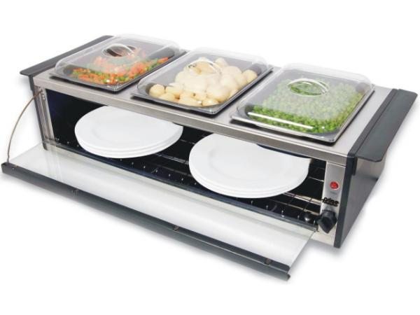 Dinner Plate Warmer ~ Hobs stoves ovens brand new prima one only w