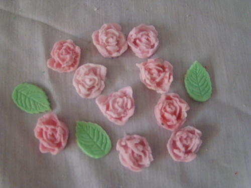 Edible Rose Cake Decoration : Other Party & Festive Supplies - Edible small rose cake ...