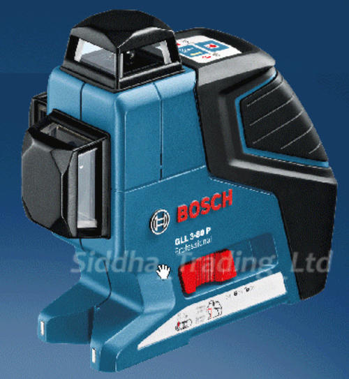 measuring levelling bosch gll 3 80 p professional line laser 1 horizontal 2 vertical 360 in. Black Bedroom Furniture Sets. Home Design Ideas