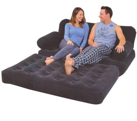 Beds Bestway Comfort Quest Sofa Bed With Electric Air Pump Was Listed For On 17 Mar At