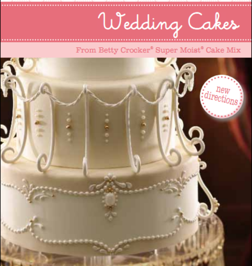Wedding Cakes By Betty Crocker