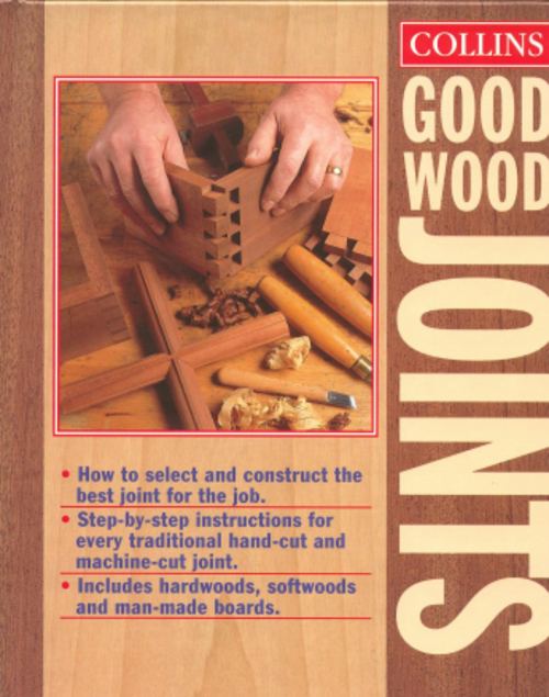 Collins Good Wood Joints Step-by-Step Instructions - Digital Download