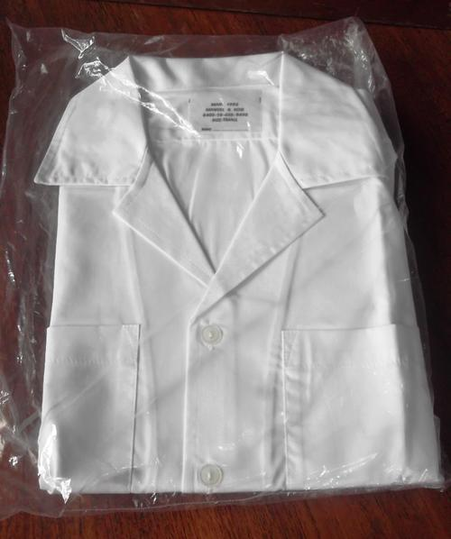 SA Navy women's/small white shirt, sealed - two available