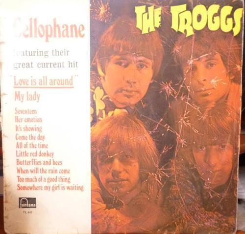 Pop Rock The Troggs Cellophane Vinyl Lp Was Sold
