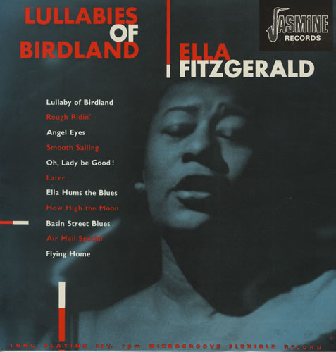 Blues Amp Jazz Ella Fitzgerald Lullabies Of Birdland Lp