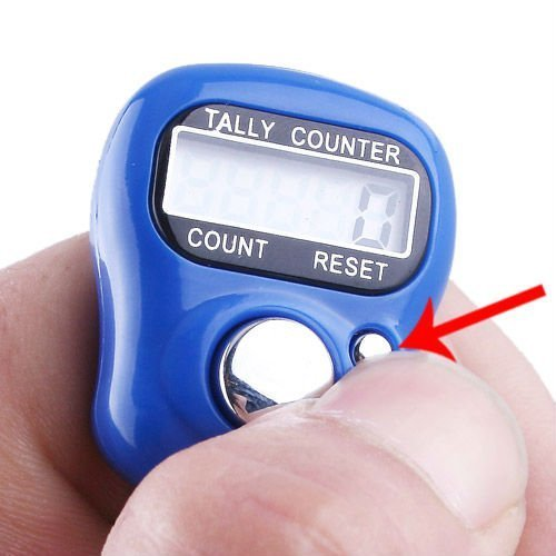 Digital finger counter