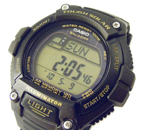 casio watch setting instructions