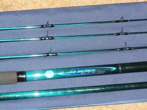 Rods blue marlin g3 3 tip graphite14ft rock surf fishing for Blue fishing rod
