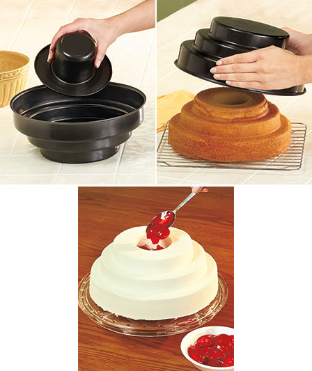 Tier Bake And Fill Cake Pan