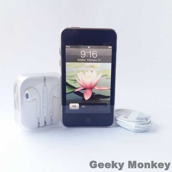 apple ipods ipod touch 64 gb was sold for on 20 feb at 10 55 by geeky monkey in. Black Bedroom Furniture Sets. Home Design Ideas