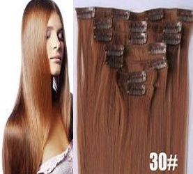 Individual Clip In Hair Extensions 15