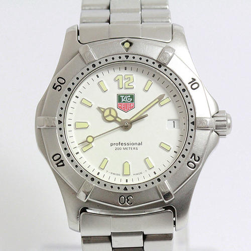 men 39 s watches tag heuer professional 200m water resistant model 3051 stainless steel 100