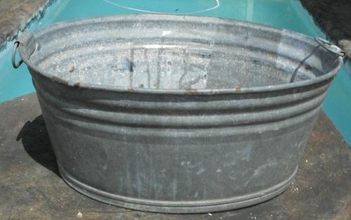 Other Garden Decor Old Genuine Galvanised Bath Was Sold