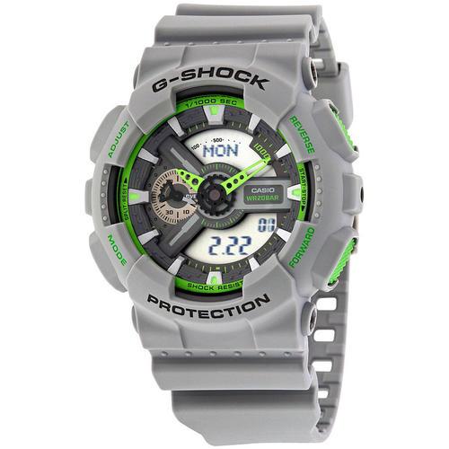 s watches casio g shock analog digital display grey