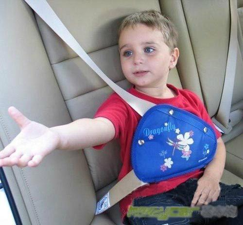 Car Has Seat Belt Positioner